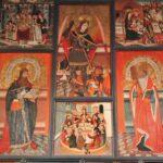 Retablo gótico en San Miguel de Vielha en Valle de Arán