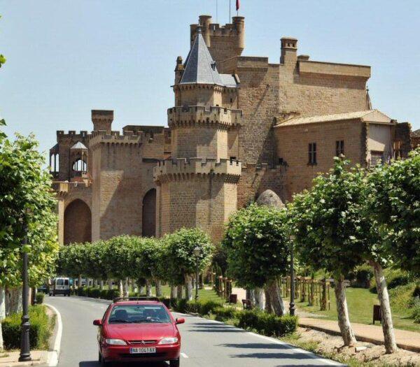 Castillo Palacio Real de Olite en Navarra