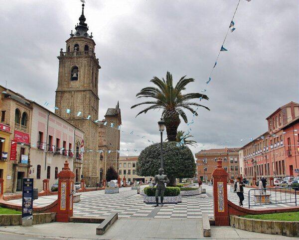 Plaza del Pan en Talavera de la Reina
