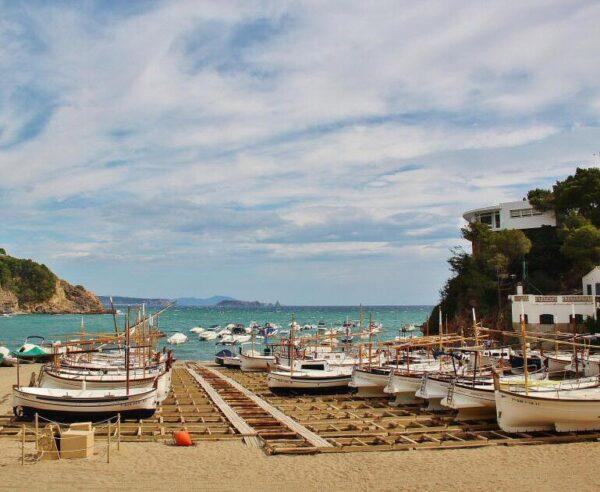 Cala de Sa Riera en Begur en Costa Brava Girona