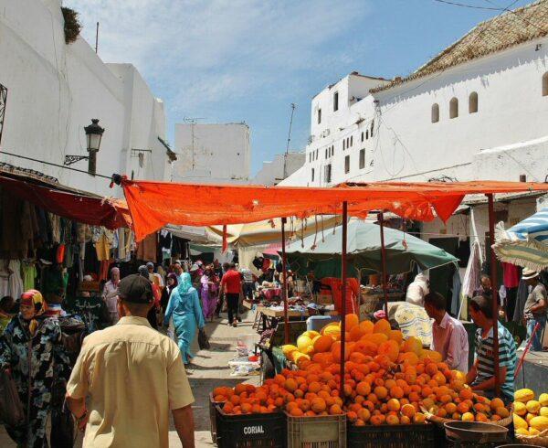 Medina de Tetuán en Marruecos