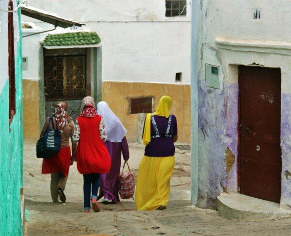 Rincón de la medina de Tetuán