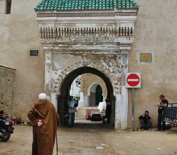 Puerta Bab Mkabar, la más antigua de la Medina de Tetuán
