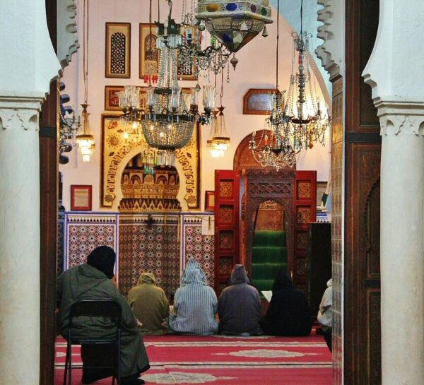 Mezquita en medina de Tetuán