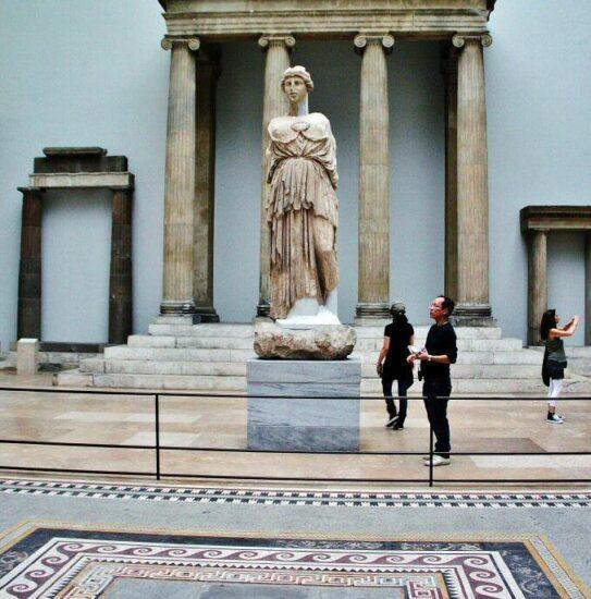 Arte heleno en el museo Pérgamo de Berlín