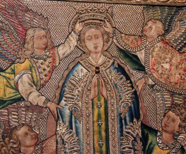 Museo de Bordados en monasterio de Guadalupe en Cáceres