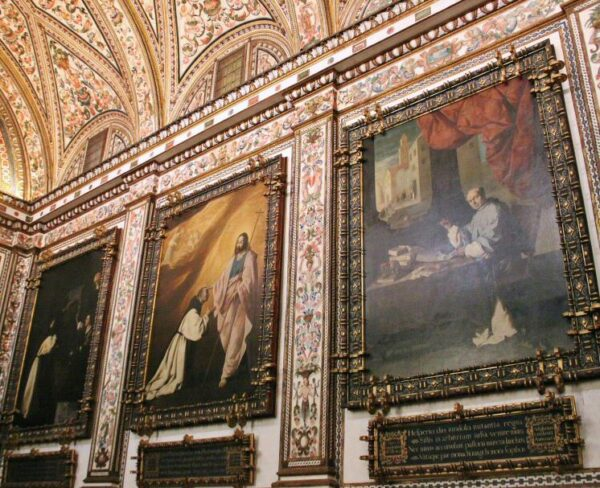Sacristía del monasterio de Guadalupe en Extremadura