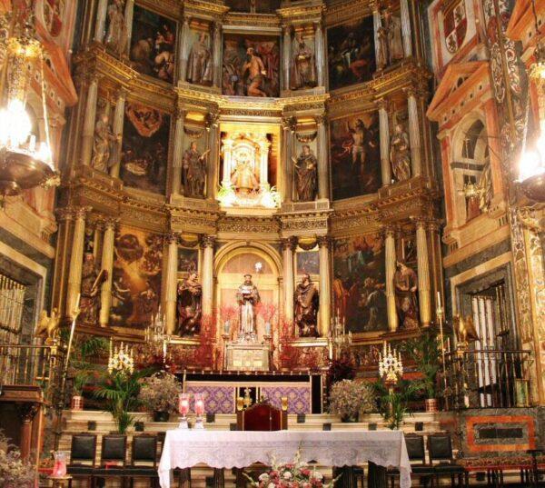Altar Mayor de la iglesia del monasterio de Guadalupe