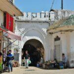 Puerta de la medina de Tánger