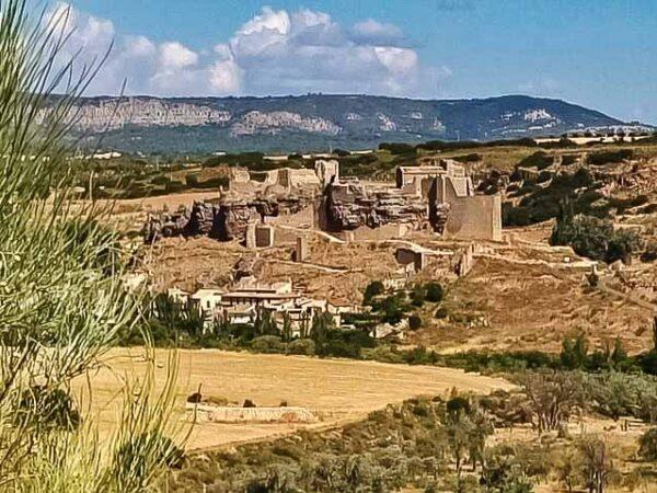 Castillo de Zorita de los Canes en La Alcarria en Guadalajara