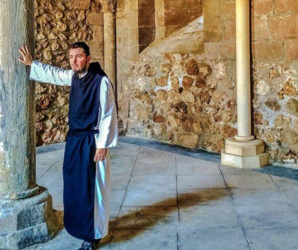 Monasterio de Monsalud en La Alcarria en Guadalajara