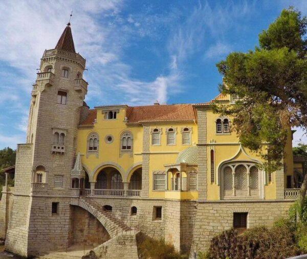 Palacio museo Condes Castro de Guimaraes en Cascais