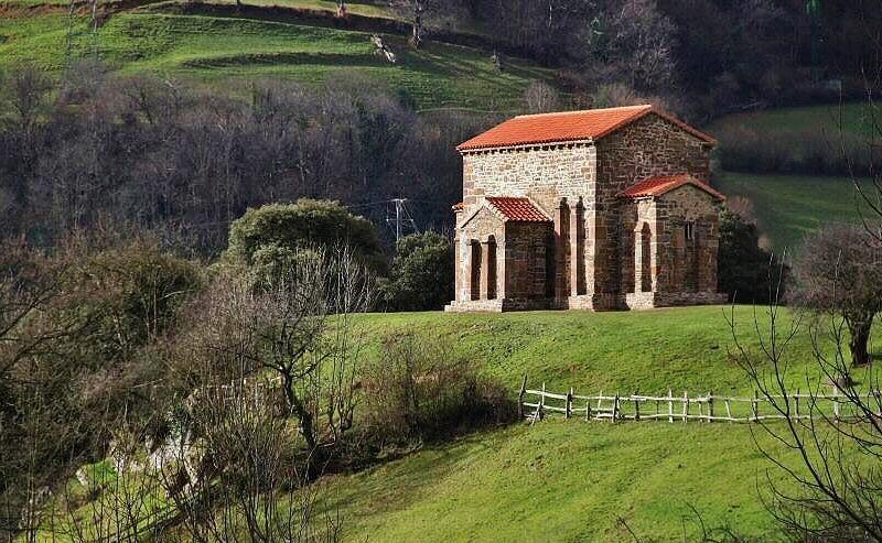Iglesia prerrománica de Santa Cristina de Lena en Asturias