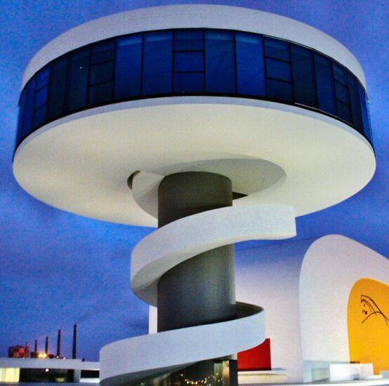 Centro cultural Niemeyer en Avilés