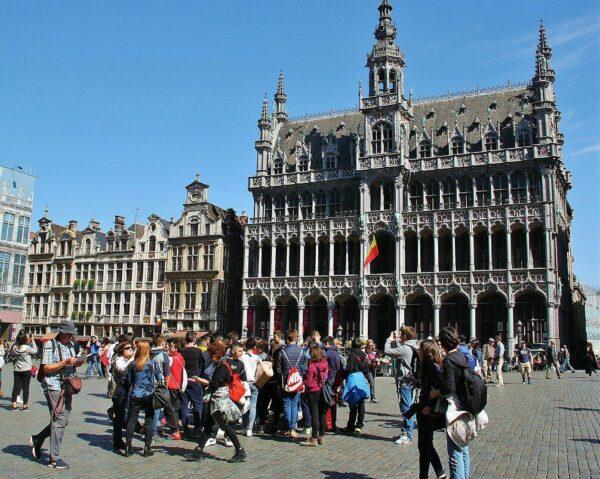 Casa del Rey en la Grand Place de Bruselas