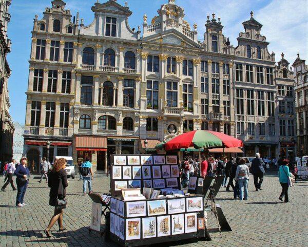 Rincón de la Gran Place de Bruselas