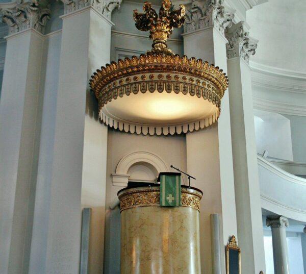 Púlpito de la Catedral de Helsinki