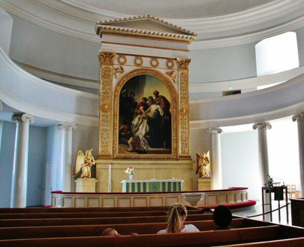 Retablo de la Catedral de Helsinki