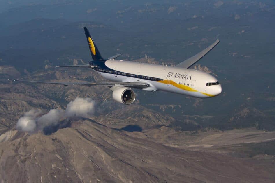 Compañía aérea Jet Airways para volar a la India