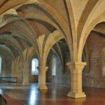 Antiguo dormitorio del monasterio de Poblet en Tarragona