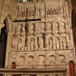 Retablo de la iglesia del monasterio de Poblet