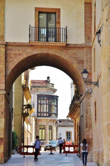 Rincón del casco histórico de Oviedo