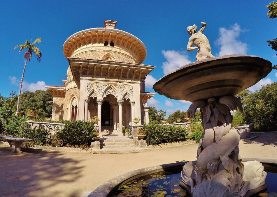 Palacio de Monserrate en Sintra cerca de Lisboa