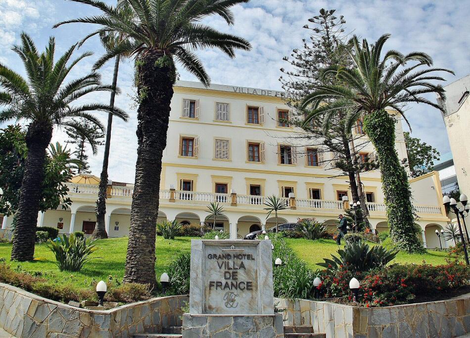 Hotel Villa de France en Tánger al norte de Marruecos