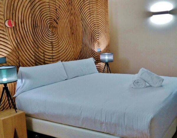 Habitación premium en el hostel Bluesock en Oporto