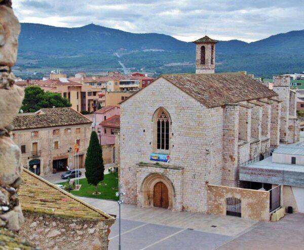 Antiguo convento franciscano en Montblanc en Tarragona