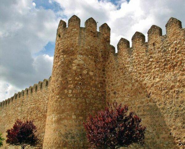 Muralla de Urueña en la provincia de Valladolid
