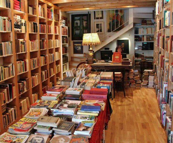 Librería en Urueña en Valladolid