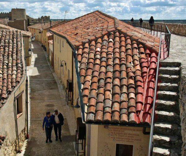 Urueña en la provincia de Valladolid