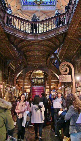 Librería Lello en Oporto
