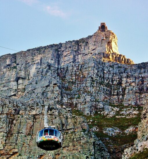 Teleférico de Table Mountain en Ciudad del Cabo