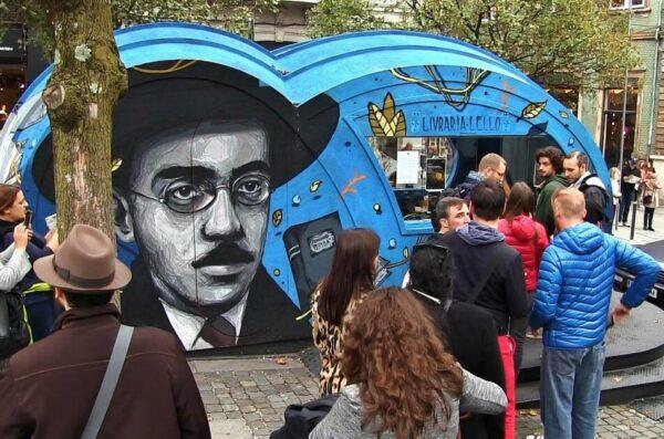 Taquilla de la Librería Lello en Oporto