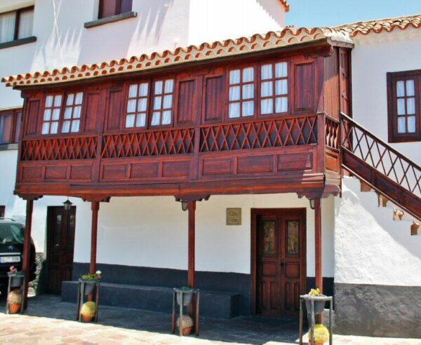 Arquitectura tradicional canaria en Tejeda en Gran Canaria