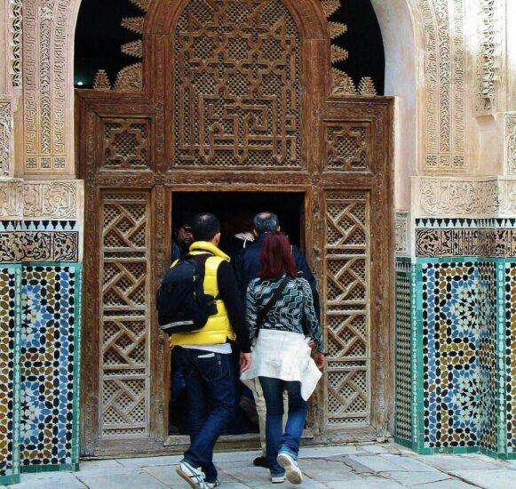 Madrasa Ben Youssef en la Medina de Marrakech