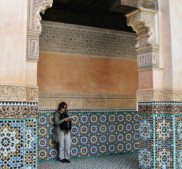 Madraza Ben Youssef en la Medina de Marrakech