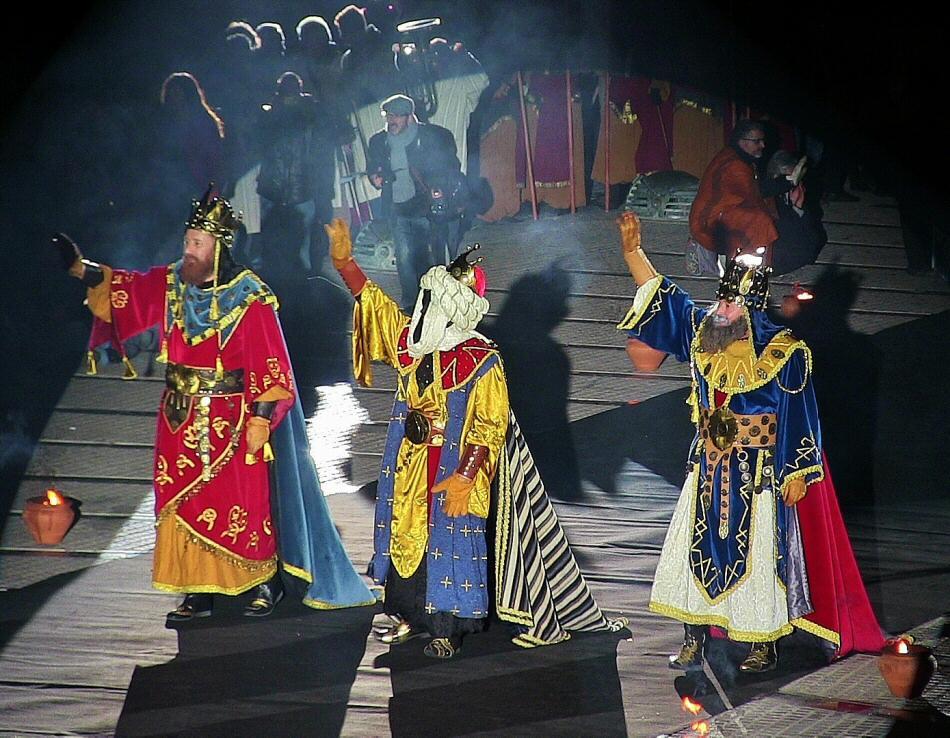 Cabalgata de los Reyes Magos en Alcoy en Alicante