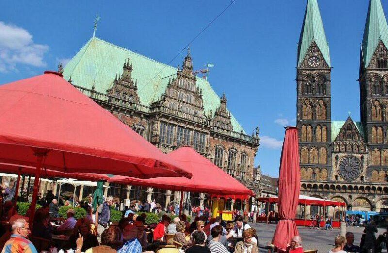 Plaza del Mercado de Bremen en Alemania