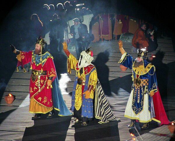 Cabalgata de Reyes Magos en Alcoy en Alicante