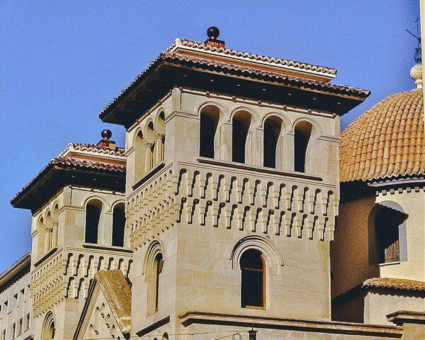 Rincón del centro histórico de Alcoy en Alicante
