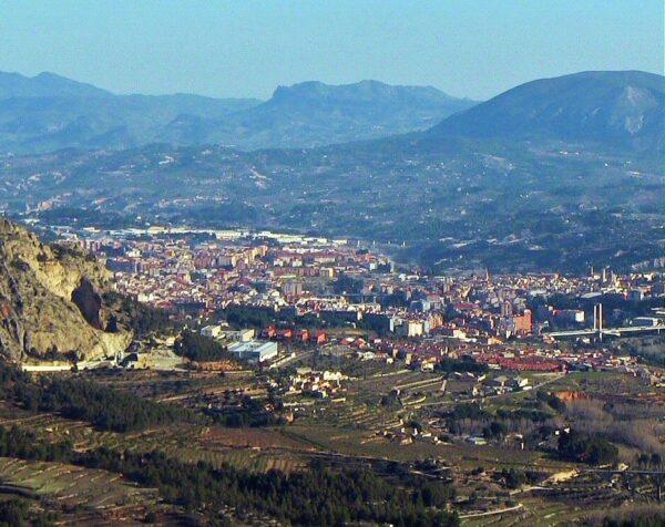 Sierra de Mariola en Alcoy en Alicante