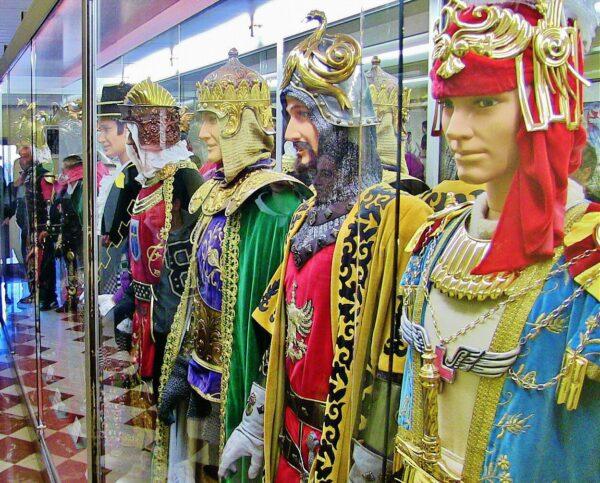 Museo de las Fiestas de Moros y Cristianos en Alcoy en Alicante