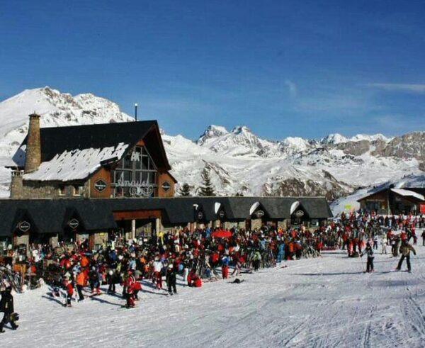 Zona de Anayet en la estación de esquí de Formigal en Aragón