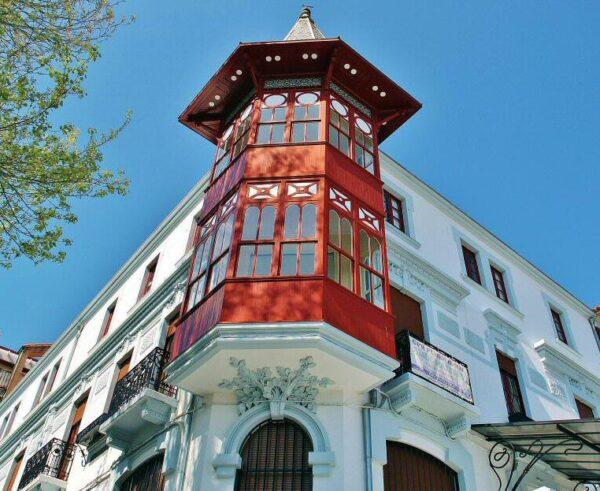 Casa Antón, edificio modernista en Ferrol