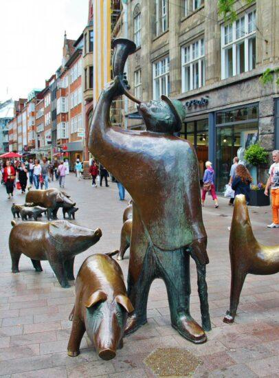 Calle de los Cerdos en Bremen