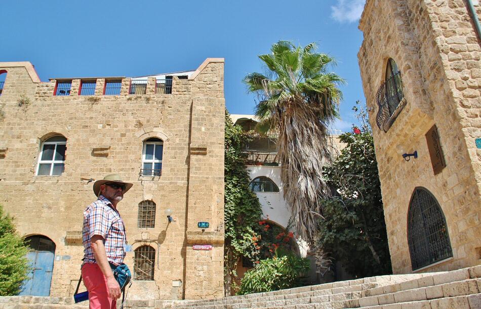 Ciudad Vieja de Jaffa en Tel Aviv en Israel