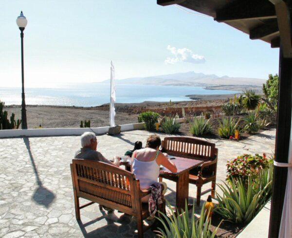 Costa Calma en Jandía al sur de Fuerteventura